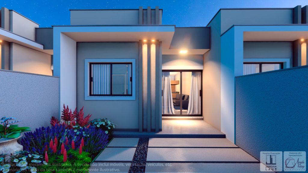 Casa 2 Dormitórios no BR Felice