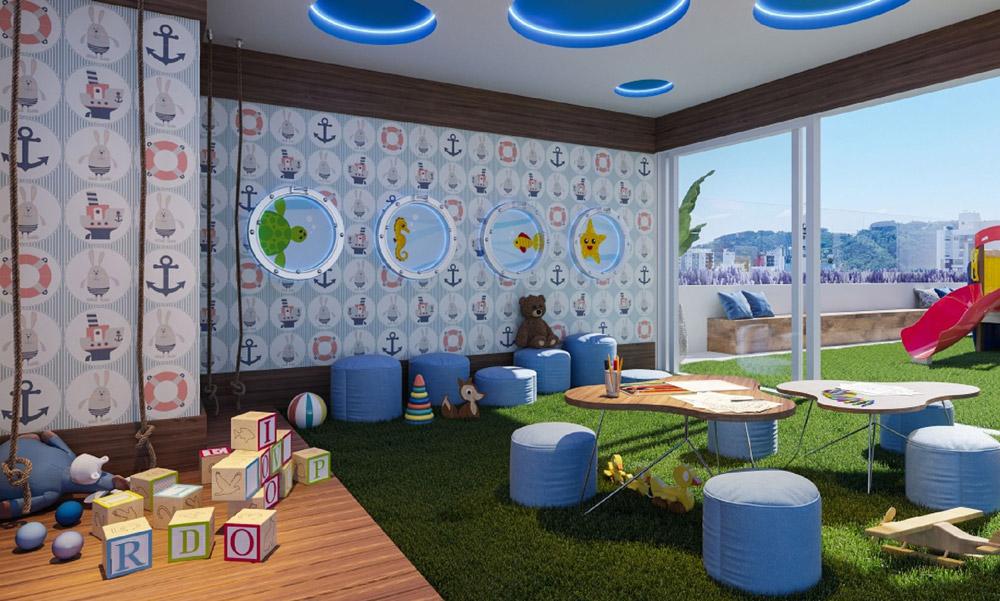 Apartamento no Garnet Azul